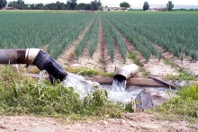 Agricultural Irrigation in the Arkansas River valley