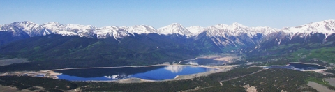 Twin Lakes and the Mt. Elbert Forebay