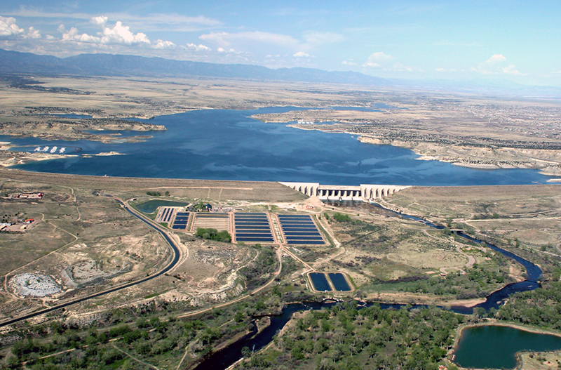 Pueblo Dam and Reservoir, Fryingpan-Arkansas Project, Property of Richard Stenzel